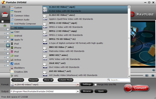 Backup your DVDs to NAS server for playing videos with XBMC on a