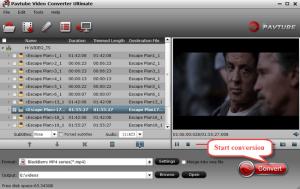 video converter ultimate-start conversion