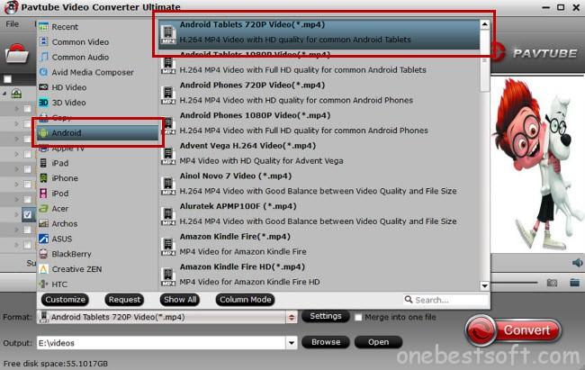 InnoTab Video Formats