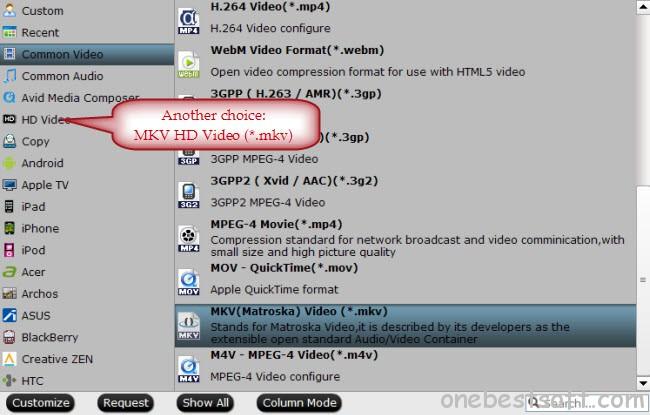 convert dvd to mkv