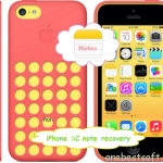iPhone 5C Note Recovery: Quickly get back deleted notes on iPhone