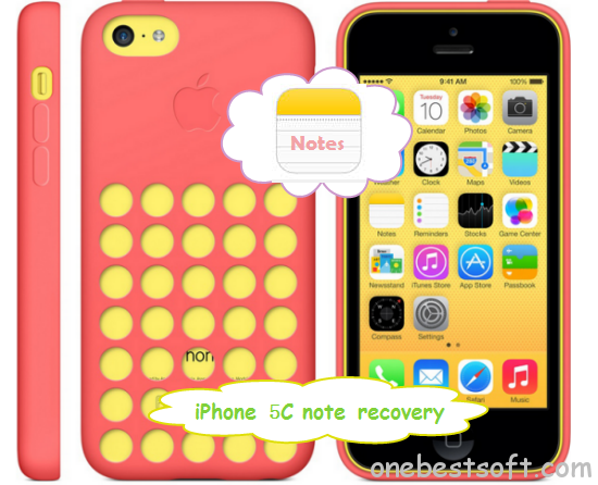 iphone 5c note recovery