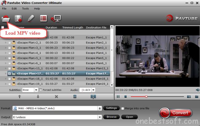pavtube mpv video converter ultimate
