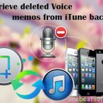 How to retrieve voice memos only from iTunes backup on Mac