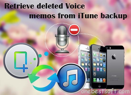 retrieve voice memos from itune backup