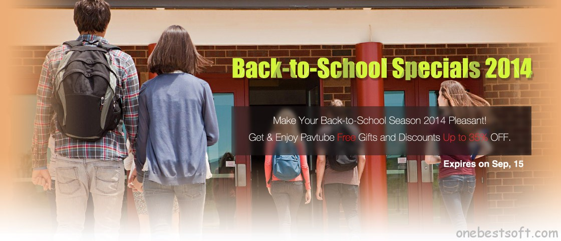 2014 back-to-school promotion