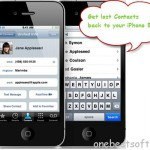 Recover and Transfer deleted Contacts back to iPhone 5