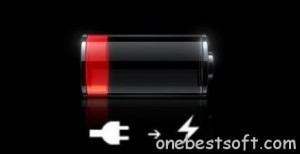red-battery-low