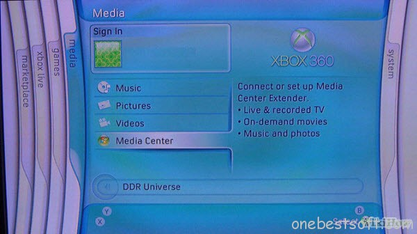 Media Center application