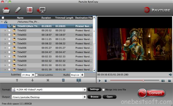 Mac Lenovo Blu-ray/DVD converter