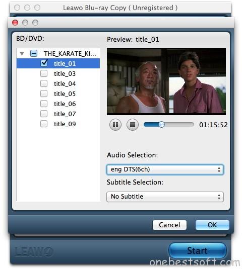 Leawo Blu-ray Copy for Mac