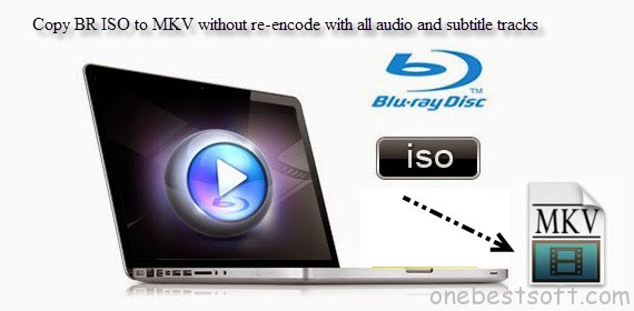 Copy BR ISO to MKV without re-encode and with all audio and