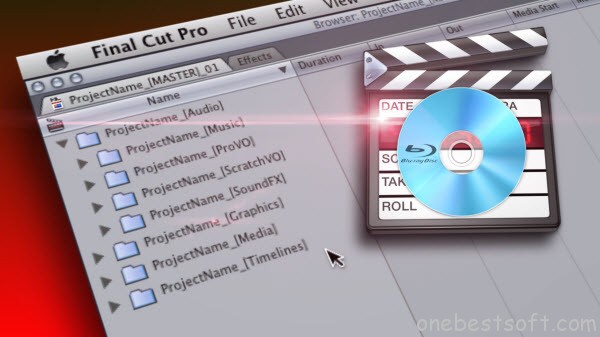 Put Blu-ray into Final Cut Pro