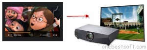 put-youtube-video-to-projector
