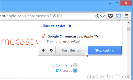 How to Stream Local Video to Chromecast from Windows/Mac