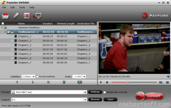 DVD to LG TV Ripper