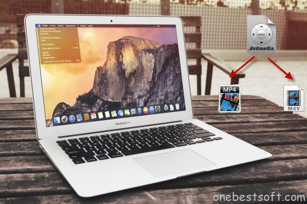 Convert dvdmedia to MP4/M4V on Mac OS X 10.10 Yosemite