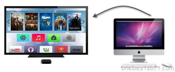 stream youtube videos to apple tv from mac
