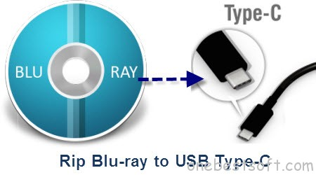 Rip Blu-ray to USB Type-C for Using