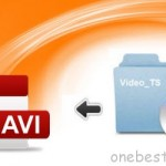 Extract one AVI movie from DVD VIDEO_TS folder on Mac/Win easily