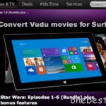 How to Watch purchased digital Vudu movies on Surface Pro 3