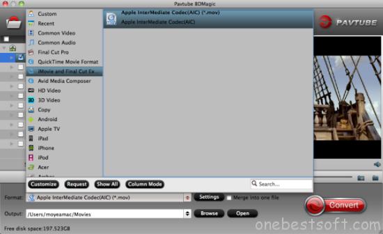 iMovie/FCE video format