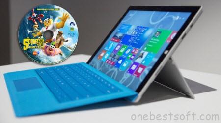 Play Blu-ray movies on Surface 3