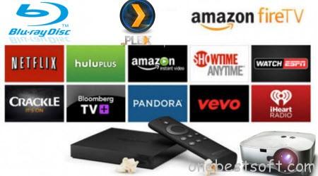Watching Blu-ray movies on Amazon Fire TV via Plex Server on