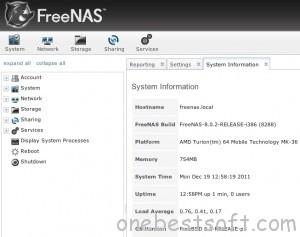 freenas-interface