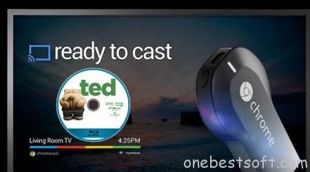 Is there a way to cast a Blu-ray using Chromecast 2 from PC to TV