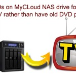 Rip DVDs on MyCLoud NAS for Stream to TV rather than Have Old DVD Player