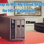 Copy Blu-ray to WD My Cloud EX2100 8TB for Streaming to TV