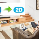 3D to 2D – Save 2D MP4 from 3D SBS for watching on Media Players