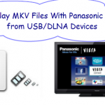 Can Panasonic Viera TV play MKV files from USB or DLNA devices?