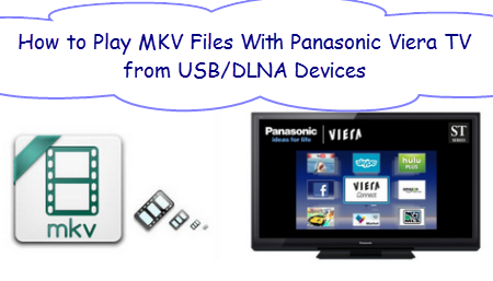 How to Solve can't Play MKV files on Panasonic Viera TV