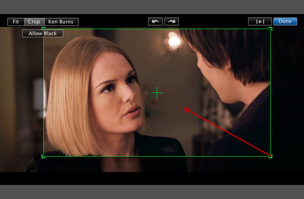 How to resize crop and rotate video clips on imovie imovie 13 open your imovie project first and open the cropping and rotating tools hit the crop button on the imovie toolbar to open the cropping tools in the viewer ccuart Images