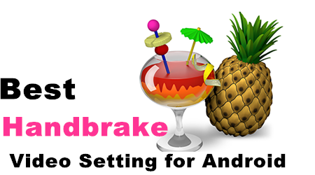 Make HandBrake Video Settings for Android Tablet | One Best Software