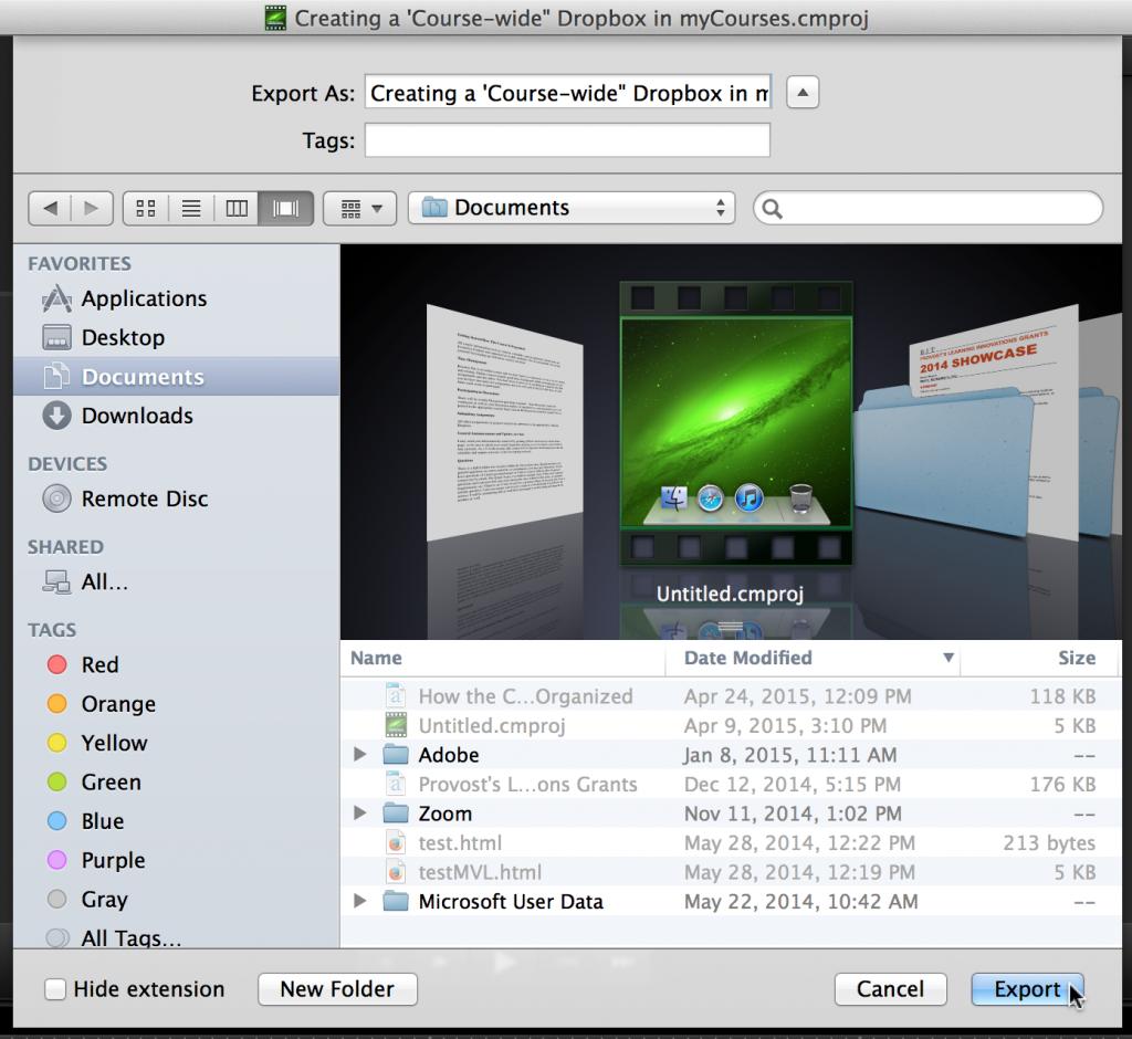 Convert Camtasia Videos on macOS Sierra (MOV, MP4, M4V, AVI, WMV