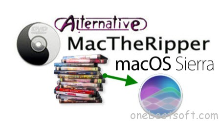 MacTheRipper Alternative to Rip DVD movies on macOS High