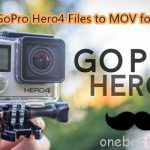 Store GoPro Hero4 Files on Media Server as MOV Via Mac OS Sierra