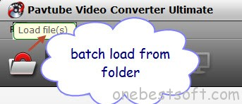 Batch load from folder