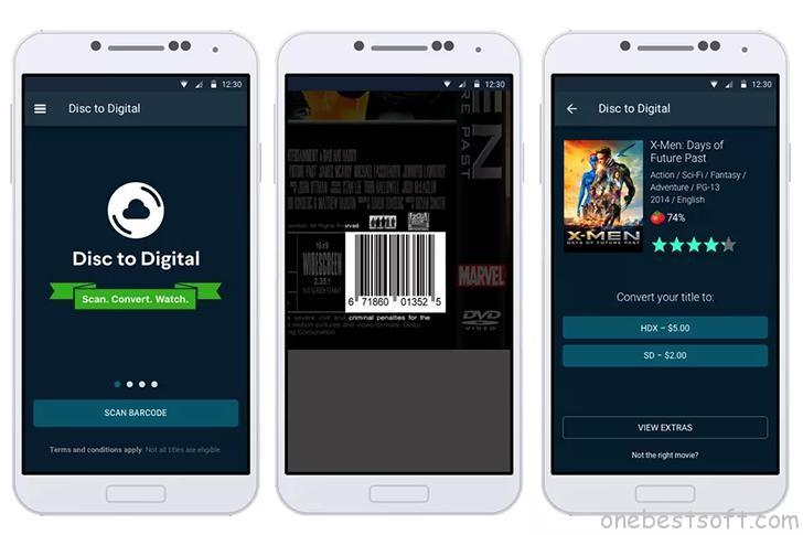 Vudu mobile app