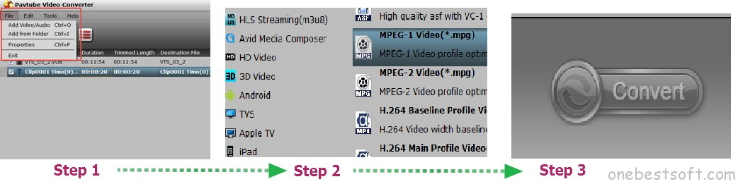 mpg to mp4 video conversion