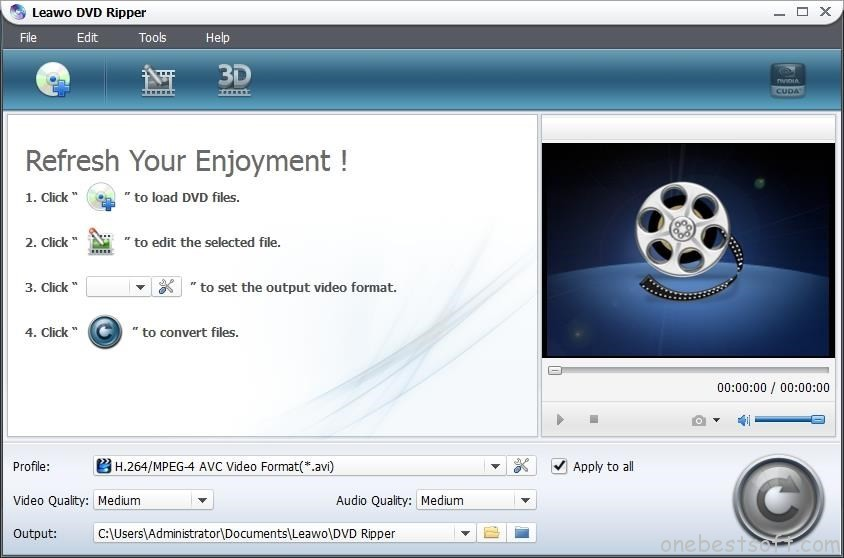 dvd to ipad converterLEAWO